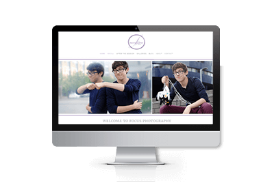 Web Design & SEO for Focus Photography