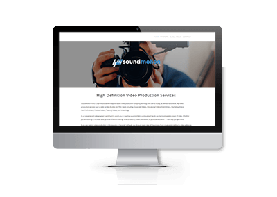 Website Redesign and SEO Optimization for SoundMotion Films