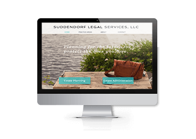 Website Design and SEO Suddendorf Legal Services