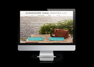 Website Design and SEO Suddendorf Legal Services