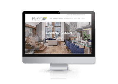 Website Design and SEO for Floors of Distinction