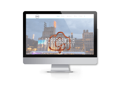 SEO Optimization and Website Updates for Coppersmith Photography