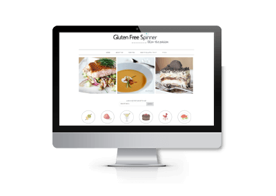 Website Updates for Gluten Free Spinner Blog